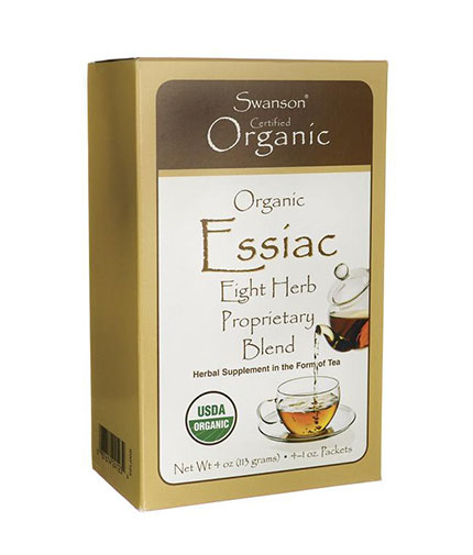 SWANSON Organic Essiac Tea / 4 Packs