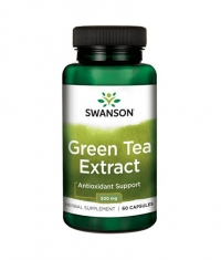SWANSON Green Tea Extract 500mg. / 60 Caps