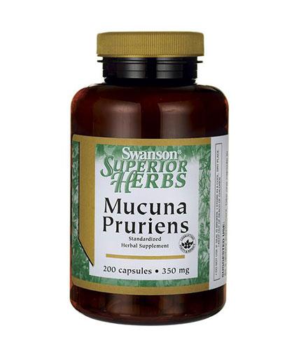 SWANSON Mucuna Pruriens 350mg. / 200 Caps