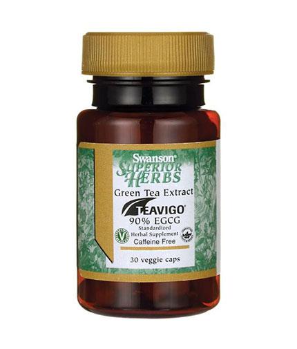 SWANSON Teavigo Green Tea Extract 90% EGCG / 30 Vcaps