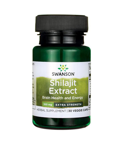 SWANSON Shilajit Extract - Extra Strength 100mg. / 30 Vcaps