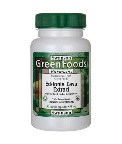 SWANSON Ecklonia Cava Extract 53mg. / 30 Vcaps