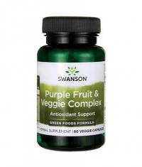 SWANSON Purple Fruit & Veggie Complex 400mg. / 60 Vcaps