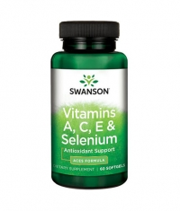 SWANSON Vitamins A, C, E & Selenium / 60 Soft