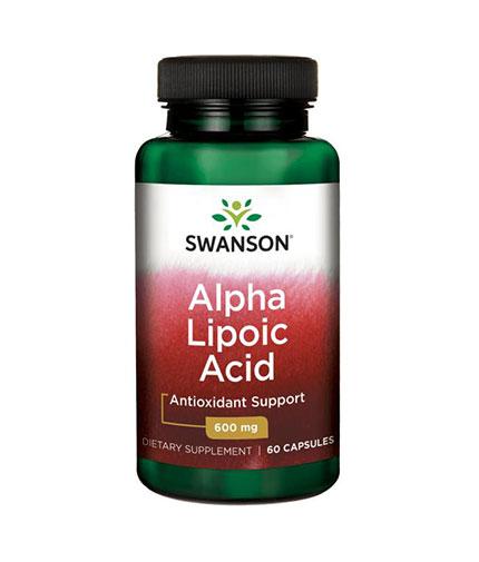 SWANSON Alpha Lipoic Acid 600mg. / 60 Caps