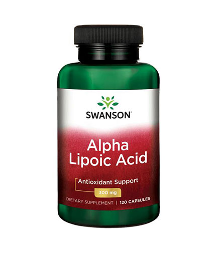 SWANSON Alpha Lipoic Acid 300mg. /  120 Caps