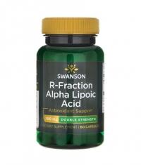 SWANSON R-Fraction Alpha Lipoic Acid - Double Strength 100mg. / 60 Caps