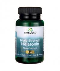 SWANSON Triple Strength Melatonin 10mg. / 60 Caps
