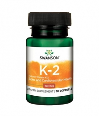 SWANSON Vitamin K-2 - Natural 100mcg. / 30 Soft