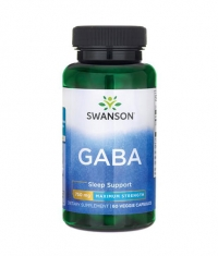 SWANSON GABA - Maximum Strength 750mg. / 60 Vcaps