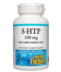 NATURAL FACTORS 5-HTP 100mg / 60 Caps.