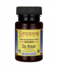 SWANSON Zinc Orotate 10mg. / 60 Vcaps