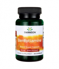 SWANSON Benfotiamine - High Potency 160mg. / 60 Caps