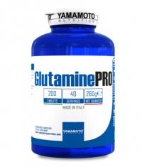 YAMAMOTO Glutamine PRO Kyowa Quality / 200 Tabs