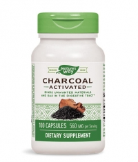 NATURES WAY Charcoal Activated 560mg. / 100 Caps