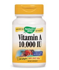 NATURES WAY Vitamin A 10000 IU / 100 Soft.