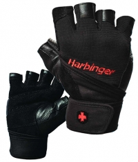 HARBINGER Pro Wrist Wrap Gloves