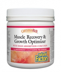 NATURAL FACTORS Muscle recovery & growth optimizer