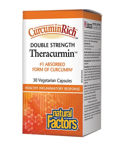 NATURAL FACTORS CurcuminRich Theracurmin / 30 Vcaps
