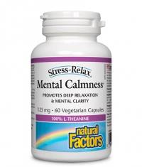 NATURAL FACTORS Mental Calmness / 60 Vcaps.