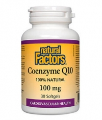 NATURAL FACTORS Coenzyme Q10 100mg. / 30 Caps