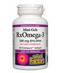 NATURAL FACTORS RX Omega 3 Mini-gels 1155 mg / 60 Softg