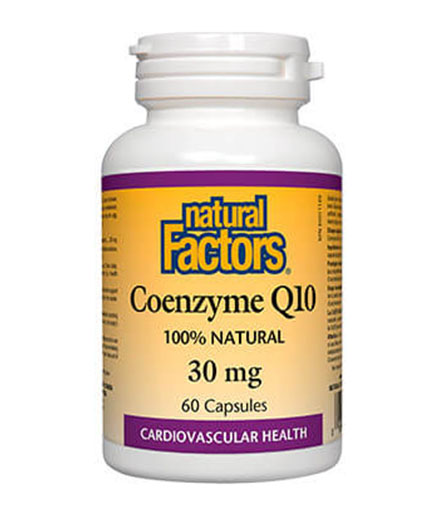 NATURAL FACTORS Coenzyme Q10 30mg / 60 Caps