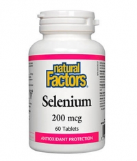 NATURAL FACTORS Selenium 200mcg / 60 Tabs