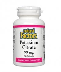NATURAL FACTORS Potassium Citrate 99mg / 90 Tabs