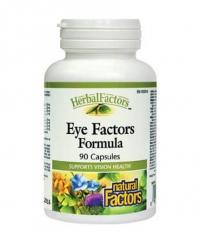 NATURAL FACTORS Eye Factors Formula / 90 Caps
