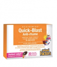 NATURAL FACTORS Quick-Blast Anti-rhume / 30 Liquid Softgels
