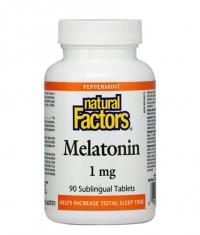 NATURAL FACTORS Melatonin 1mg / 90 Tabs