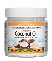 NATURAL FACTORS Holista Organic Coconut Oil / 440ml