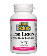 NATURAL FACTORS Iron Factors 35mg / 90 Tabs