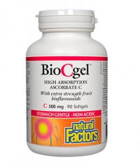 NATURAL FACTORS BioCgel 500mg / 90 Softg