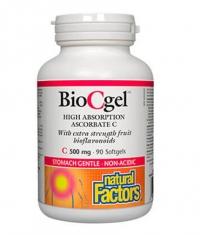 NATURAL FACTORS BioCgel 500mg / 90 Softg
