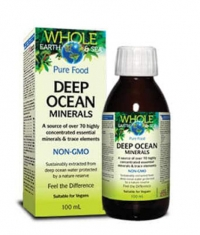 NATURAL FACTORS Whole Earth & Sea Deep Ocean Minerals / 100ml