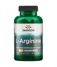 SWANSON L-Arginine - Maximum Strength 850mg. / 90 Caps