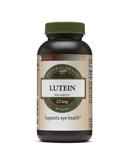 GNC Natural Brand Lutein 20mg / 60 Softg.