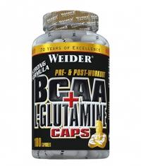 WEIDER BCAA + L-Glutamine / 180 Caps.