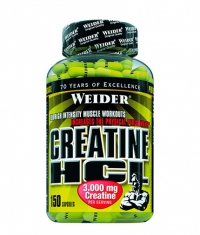 WEIDER Creatine HCL / 150 Caps.