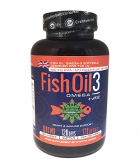 CVETITA HERBAL Fish Oil 3 / 120 Caps.