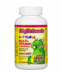 NATURAL FACTORS BigFriends Children's Chewable Multi-Vitamins & Minerals / 60 Chews.