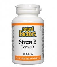 NATURAL FACTORS Vitamin B Stress Formula / 90 Tabs.