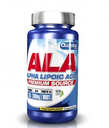 QUAMTRAX NUTRITION Alpha Acid Lipoic / 50 Caps.