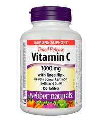 WEBBER NATURALS Timed Release Vitamin C 1000mg / 150 Tabs.