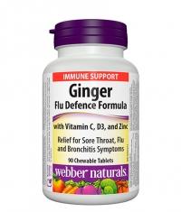 WEBBER NATURALS Ginger Cold Formula / 90 Chews.