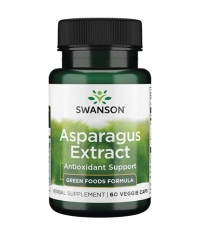 SWANSON Asparagus Extract / 60 Vcaps