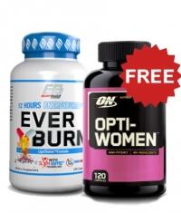 PROMO STACK Everburn + Optiwoman FREE Stack