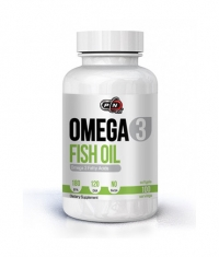 PURE NUTRITION Omega 3 Fish Oil 180/120 1000mg. / 100 Softgels